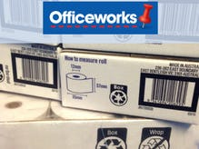 Officeworks - the first company to adopt the Recycling Label